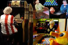 Who says arcade #games are just for #kids? Meet Doris Self: the 80 yr-old arcade champion  888-988-2817
