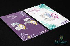Desenvolvimento de Impressos Promocionais para o cliente: Joinville Maquinas de Costura