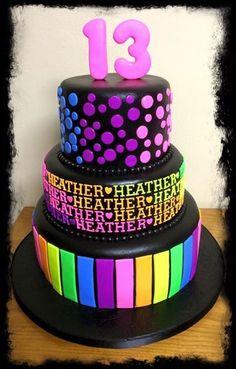 i.pinimg.com 736x 60 35 92 6035920941825274d22a66ef383558b7--glow-party-neon-party-cake.jpg Unicorn, Glow, A Unicorn, Unicorns