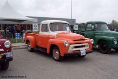 My 1st car- '57 International pickup truck in white.