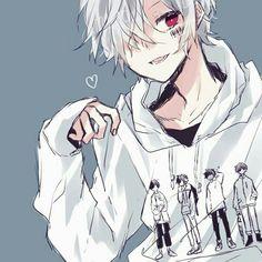 Mafumafu with Soraru t-shirt Anime Oc, Anime Neko, Manga Anime, Anime Child, Cute Anime Guys, Manga Boy, Kawaii Art, Vocaloid, Anime Characters