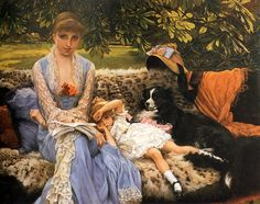 Quiet by James Tissot.