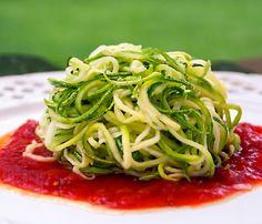 Um milhão de dicas: espaguete de abobrinha - Lucilia Diniz