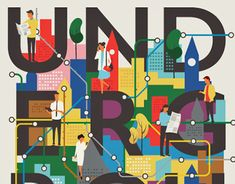 Consulter ce projet @Behance: «Going Underground» https://www.behance.net/gallery/22982155/Going-Underground