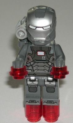 Lego Super Heroes Iron Man 3 War Machine Minifigure 76006 | eBay $13.49