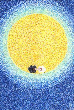 Happy Moon Festival Everyone. No matter where we are:) Chinese Moon Festival, Autumn Moon Festival, Cake Festival, World Festival, Chinese Moon Cake, Chinese Holidays, Dragon Boat, Children's Literature, Watercolor Print