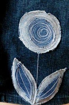 Старые джинсы - новые идеи! — Стильные заплатки, альбом открыт для всех | OK.RU