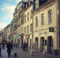 """""""McDos"""", McDonald's in France might surprise you! Read more at A Beautiful Journey"""