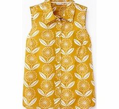 Boden Sleeveless Shirt, Yellow Sunflower Print 34476788 A Fifties inspired favourite that looks fabulous with full feminine skirts and just the job with jeans. http://www.comparestoreprices.co.uk//boden-sleeveless-shirt-yellow-sunflower-print-34476788.asp