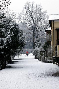 Winterspaziergang durch das Steinachviertel in Meran. #meran #winter #meranerland #suedtirol