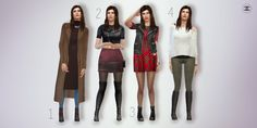 CHANEL SIMS — Casual Autumn/Winter Lookbook 1 … Sweater [x] ...