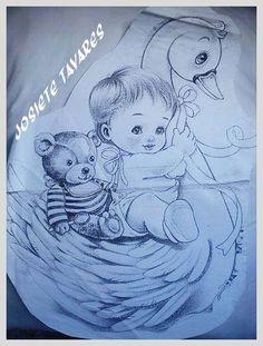 Bebê no cisne
