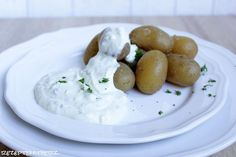Kartoffelcreme Kräuterquark Thermomix Rezept