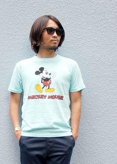 [SUNGLASSES] KANEKO OPTICAL×SD Sunglasses Type1 PRICE : ¥22,000(+Tax)  [TOPS] Disney × SD Mickey Mouse T PRICE : ¥7,800(+Tax)