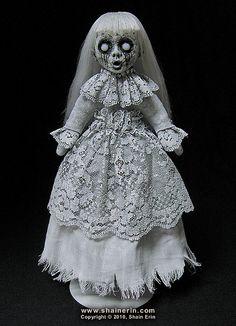 Shain Erin's Morbid Art dolls on Worpress | Morbid Art dolls by Shain Erin