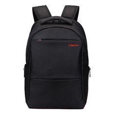 89f3a9409f  Tigernu  waterproof nylon  backpack laptop notebook shoulder bag business  black