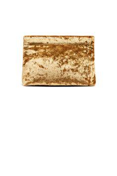 Une pochette moirée acne