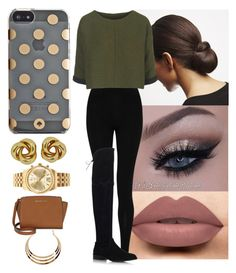""""""""""" by yanniixo ❤ liked on Polyvore featuring M&S Collection, Stuart Weitzman, Topshop, Kate Spade and Michael Kors"""