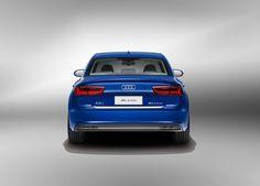 2017 Audi A6L E-tron Back View