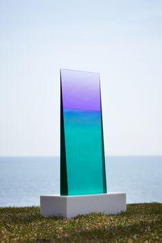 Light sculptures by Eric Cahan