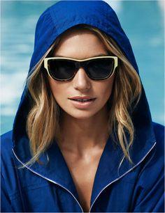 Jessica Hart soaks up the sun for Louis Vuitton Summer 2014 Catelogue