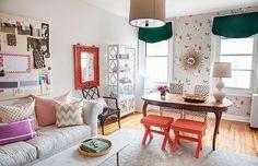 Como combinar colores calidos y frios en muebles y decoracion
