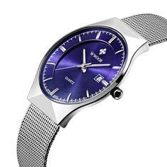US $89.95 - Men Watches Top Brand Luxury30M Waterproof Ultra Thin Date Clock Male Steel Strap Casual Quartz Watch Men Sports Wrist Watch