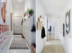 kreavilla.com 5-tips-to-decorate-a-small-hallway