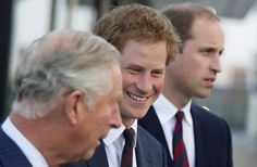 Prince Charles, Prince Harry and Prince William attend a Business Leaders Employment meeting at Queen Elizabeth Olympic Park.