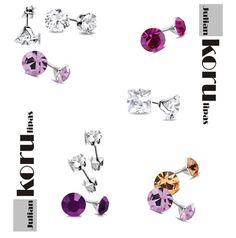 Korvakorut PinkAmetyst - Julian Korulipas Trendy Jewelry, Women Jewelry, Other Accessories, Cool Designs, Jewellery, Color, Fashion Jewelry, Jewels, Schmuck