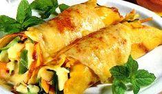 Κανελόνια με λαχανικά και φέτα