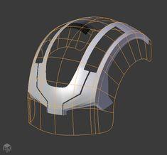 The Shrinkwrap Modifier: A Hard-Surface Modeller's Best Friend - Ray Mairlot Freelance Artist Maya Modeling, Modeling Tips, 3d Tutorial, Digital Art Tutorial, Blender 3d, Polygon Modeling, 3d Computer Graphics, Hard Surface Modeling, Blender Tutorial