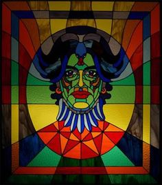 stained glass people | Portrait | People - Stained Glass | Pinterest