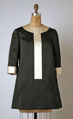 Geoffrey Beene Silk Cocktail Dress, 1963-69