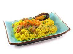Receta de arroz con rape, gambas y mejillones | EROSKI CONSUMER