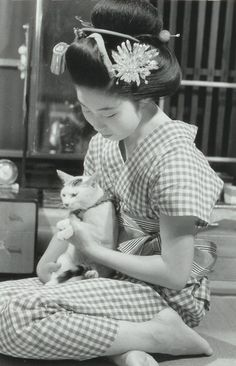 About 1950's, Japan.  Photography by Kiichi Asano (1914 - 1990)