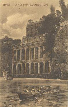 Villa of Francis Marion Crawford, Sorrento.