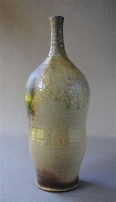 Wood Fired Bottle by JohnMcCoyPottery on Etsy, $75.00 www.etsy.com/shop/JohnMcCoyPottery