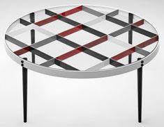 Tea Table designed by Gio Ponti in 1954-1955. Courtesy of Molteni.