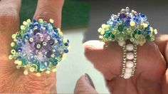 seedbeads ring beading tutorial