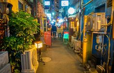 Although it is best known for the bars and the nightlife, the Golden Gai is more than that. http://yabai.com/p/3737