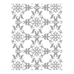Vintage Wallpaper Textured Impressions Embossing Folder - by Stampin' Up! - $7.95  so little effort for such a BIG impression