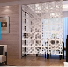 E-life Technology 10pc Acanthe Wood-plastic Hanging Screen Partition Room Divider Wall Sticker Home Hotel Decor E-life Technology http://www.amazon.com/dp/B00WG8MDNQ/ref=cm_sw_r_pi_dp_uk4Mvb0427AQX