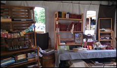 View of Guild of Limners at Pennsic