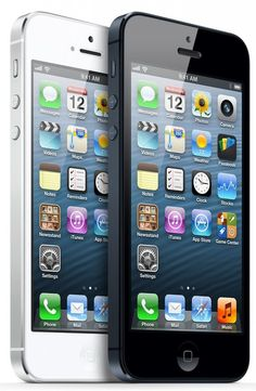 Apple - iPhone 5 - The thinnest, lightest, fastest iPhone ever. New iPhone 5 Apple Iphone 5, Iphone 8 Plus, Iphone 5 16gb, Free Iphone, Iphone Deals, Iphone Cases, Buy Iphone, Iphone Phone, Samsung Galaxy S