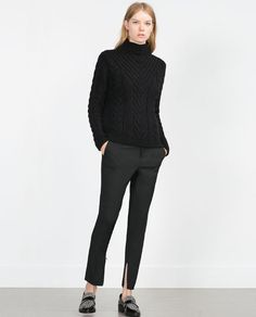 Image 1 of MASCULINE TROUSERS from Zara