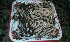 Homemade chocolate covered Pretzels