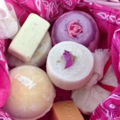 Lush spa products from lushusa,com.  Thank u Laura.  What a great gift.  Mothers day ladies...