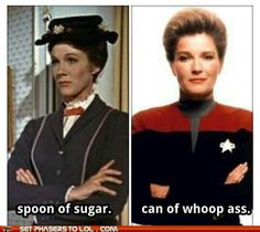 You go Janeway!