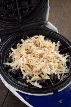 Easy Waffle Iron Hash Browns » A great kitchen tip!